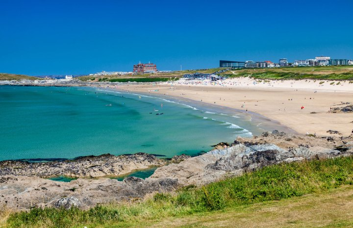 cheap staycation in Newquay