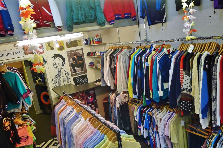 vintage clothes shopping bristol
