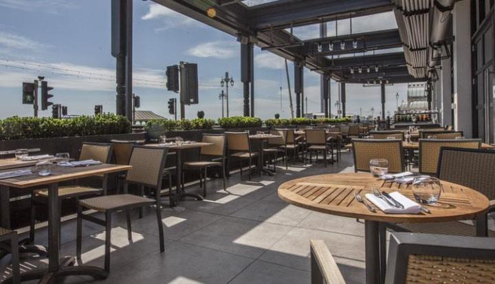 The Salt Room brighton outdoor restaurant