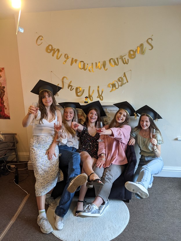 celebrate graduation from home