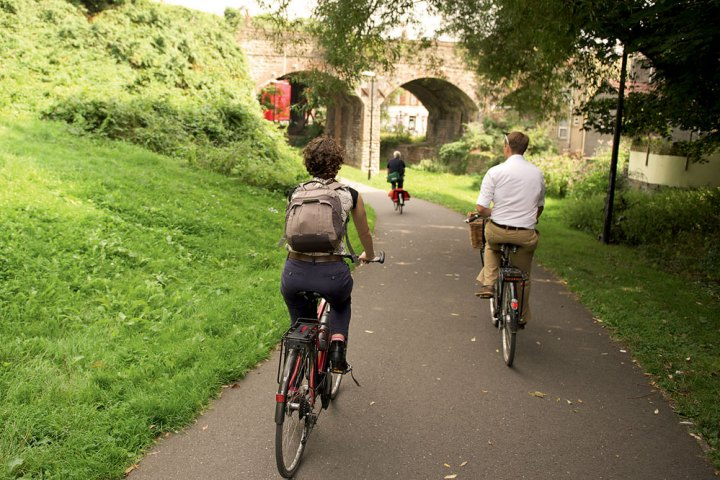 where to cycle in bristol