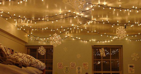 fairy lights decor ideas