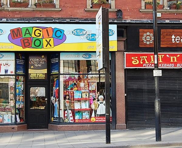 magic box newcastle