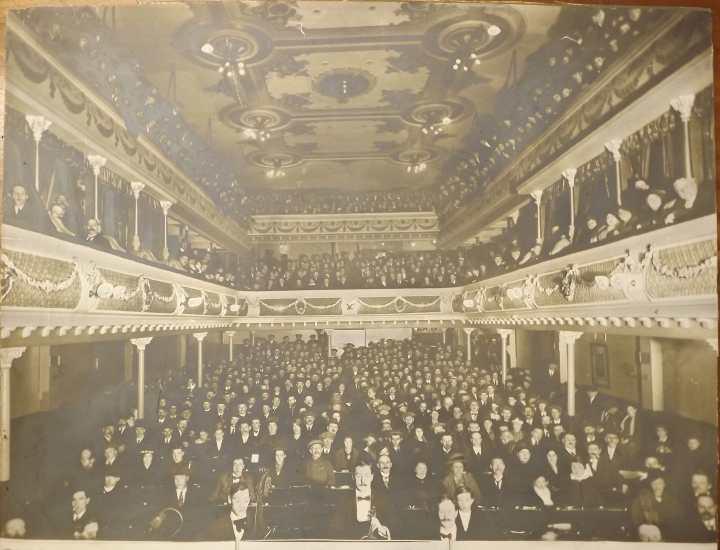 City Varieties Music Hall haunted