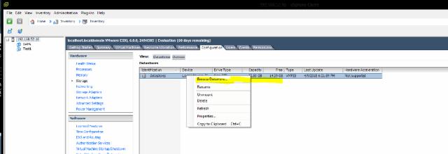 VMware ESX 6.0 Kurulumu ve VMware vSphere ile Sanal Makine Yönetimi