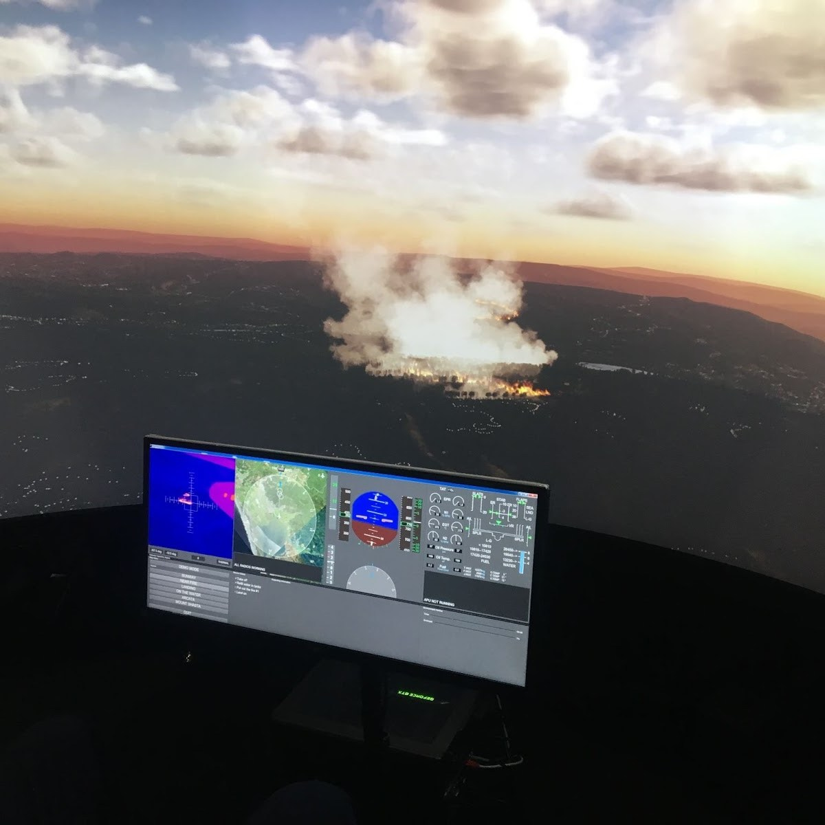 Features For Simulation & Training