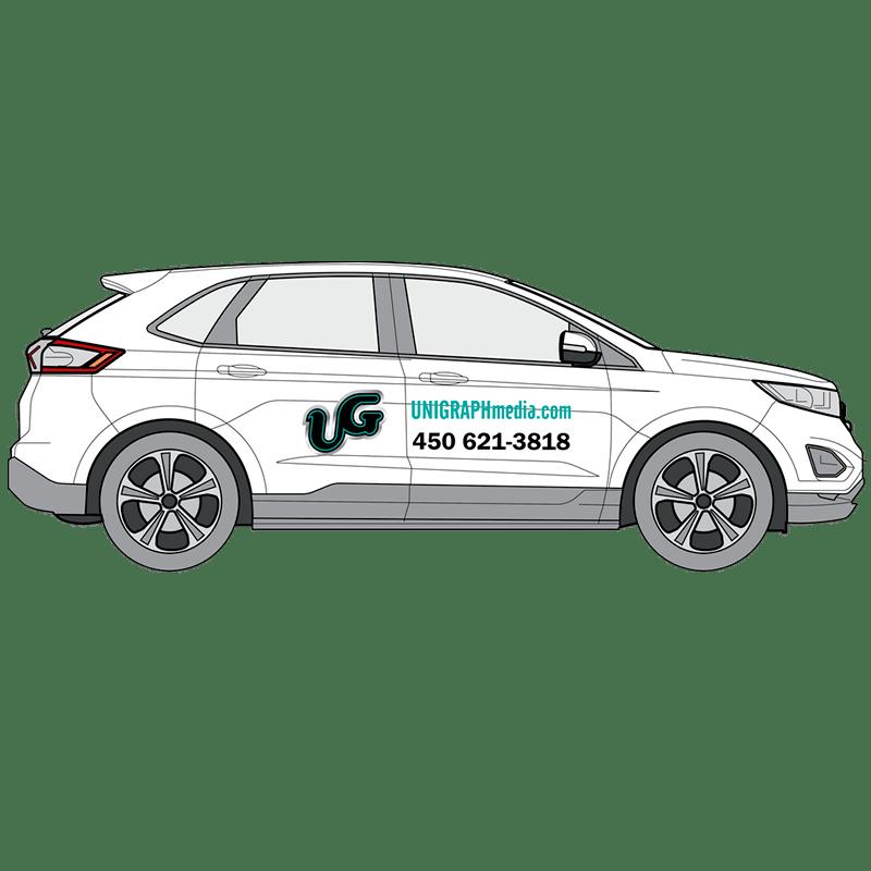 Lettrage de véhicule