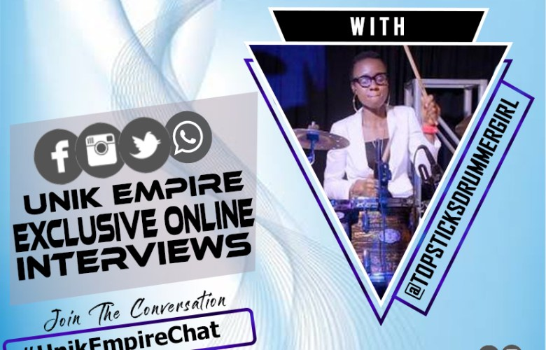Interview with a Nigerian top notch female drummer topsticksdrummergirl