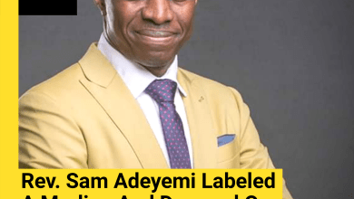 Rev Sam Adeyemi Labeled A Marlian And Dragged On Twitter