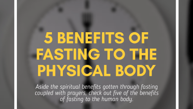 Five (5) Benefits Of Fasting To The Body