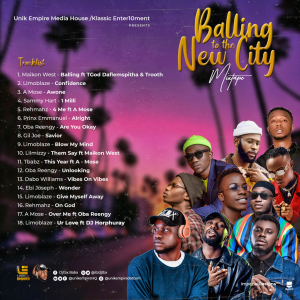 Balling To The New City Mixtape Hosted by DJTbx