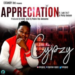 Appreciation by Cypzy, Luki & Philip Dobson