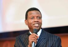 Pastor Enoch Adeboye gives a message of comfort to his members about the deadly coronavirus
