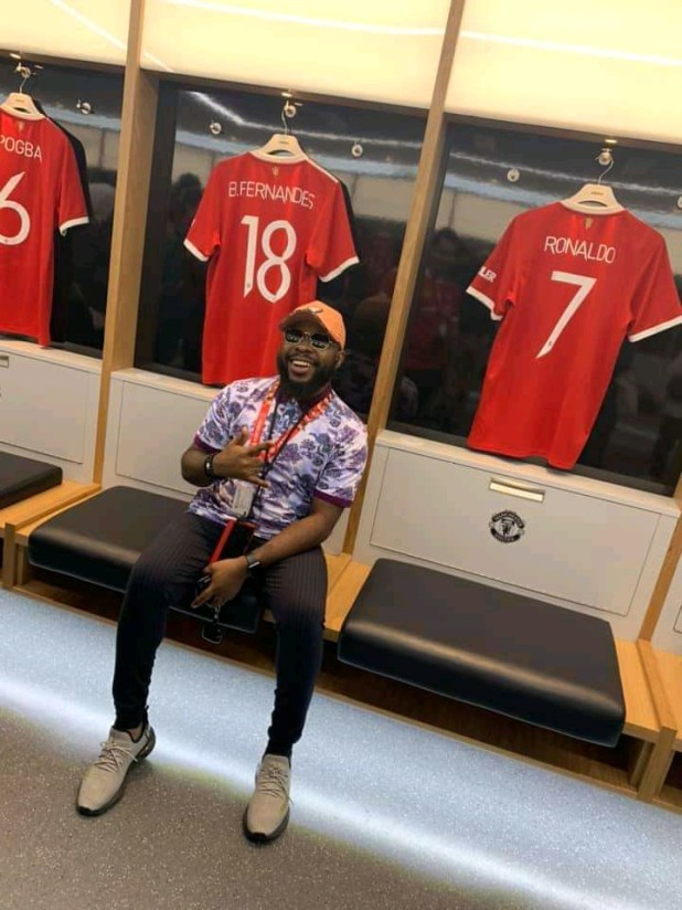 Prospa Ochimana Pays Visit To Old Trafford