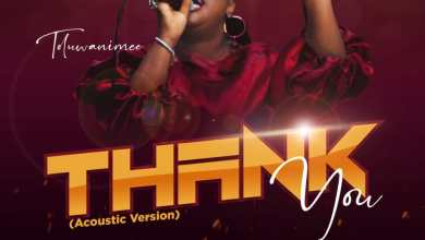 Thank You (Acoustic Version) by Toluwanimee