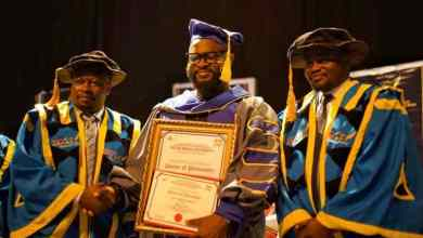 Award Winning Producer Wilson Joel Honored with a Doctorate Degree by Escae University