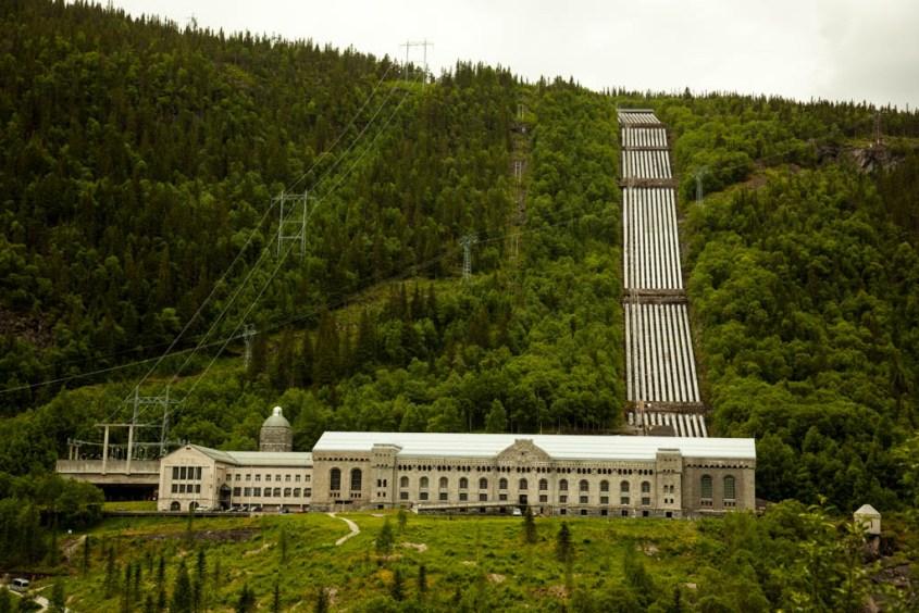 vemork kraftstasjon, rjukan, norway