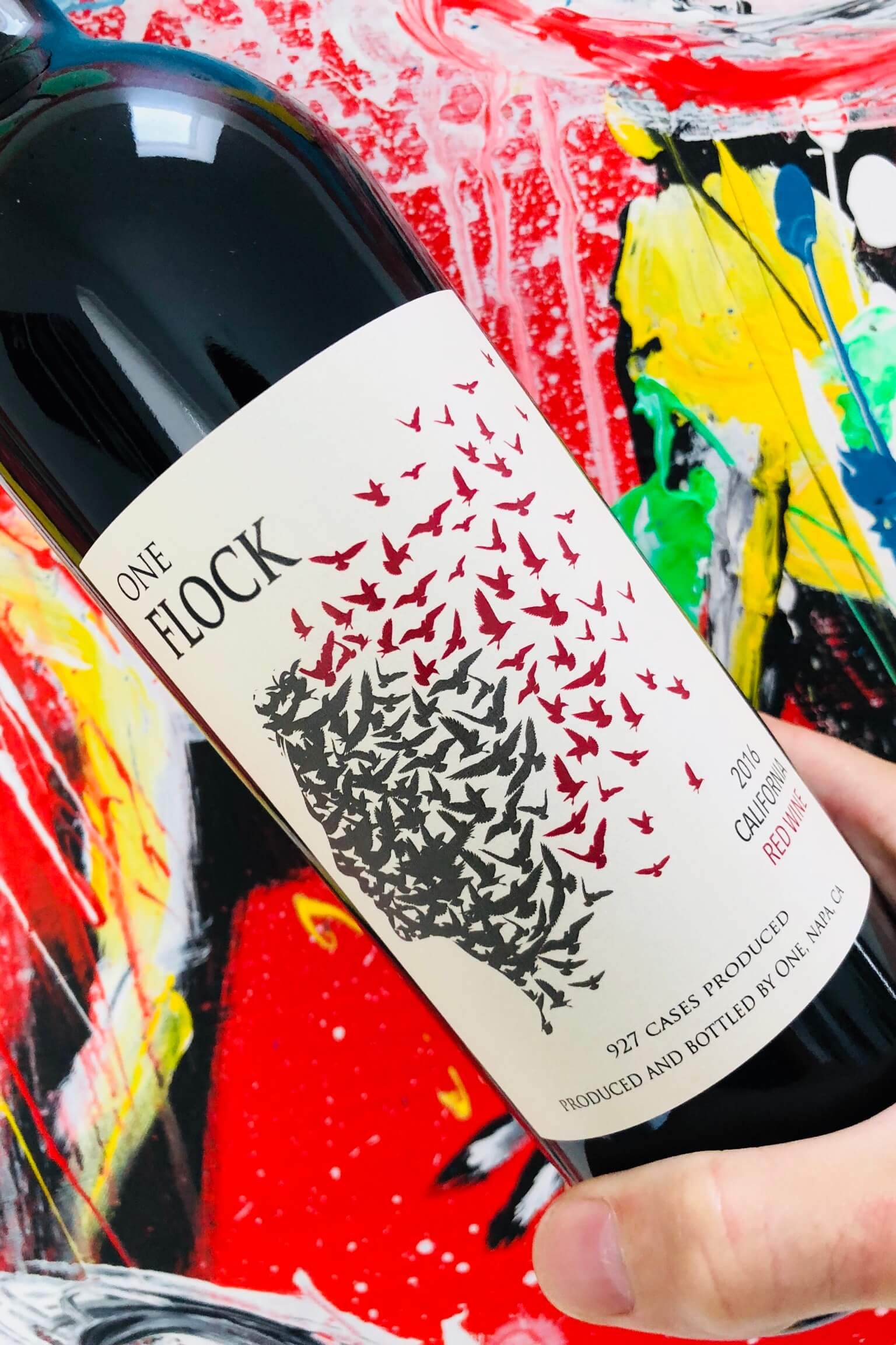 One Flock, Red Blend