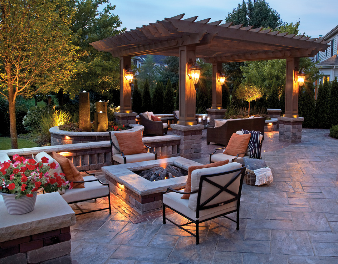 mix it up concrete pavers and walls