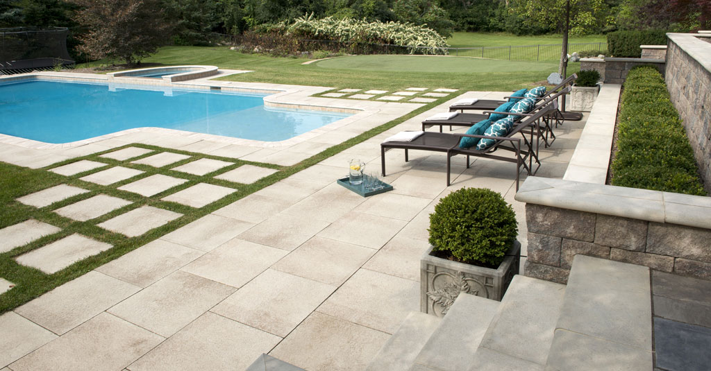 creating the perfect pool patio area
