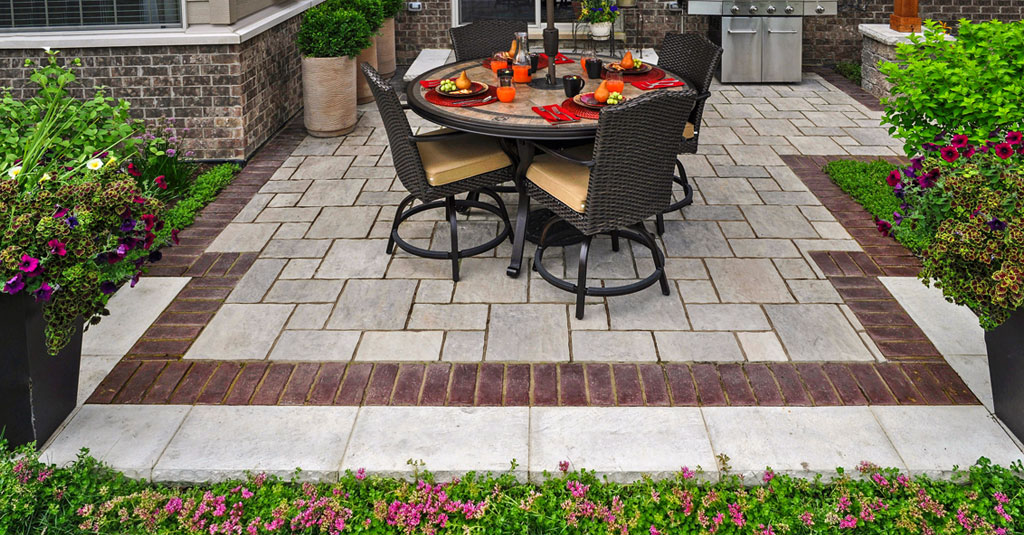 patio design is about borders and