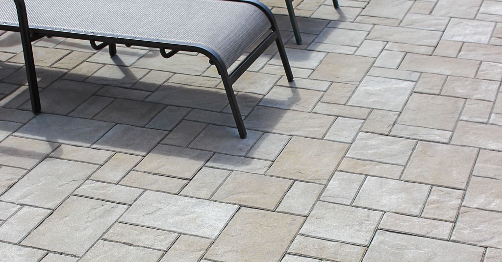 10 patios that use paver patterns to