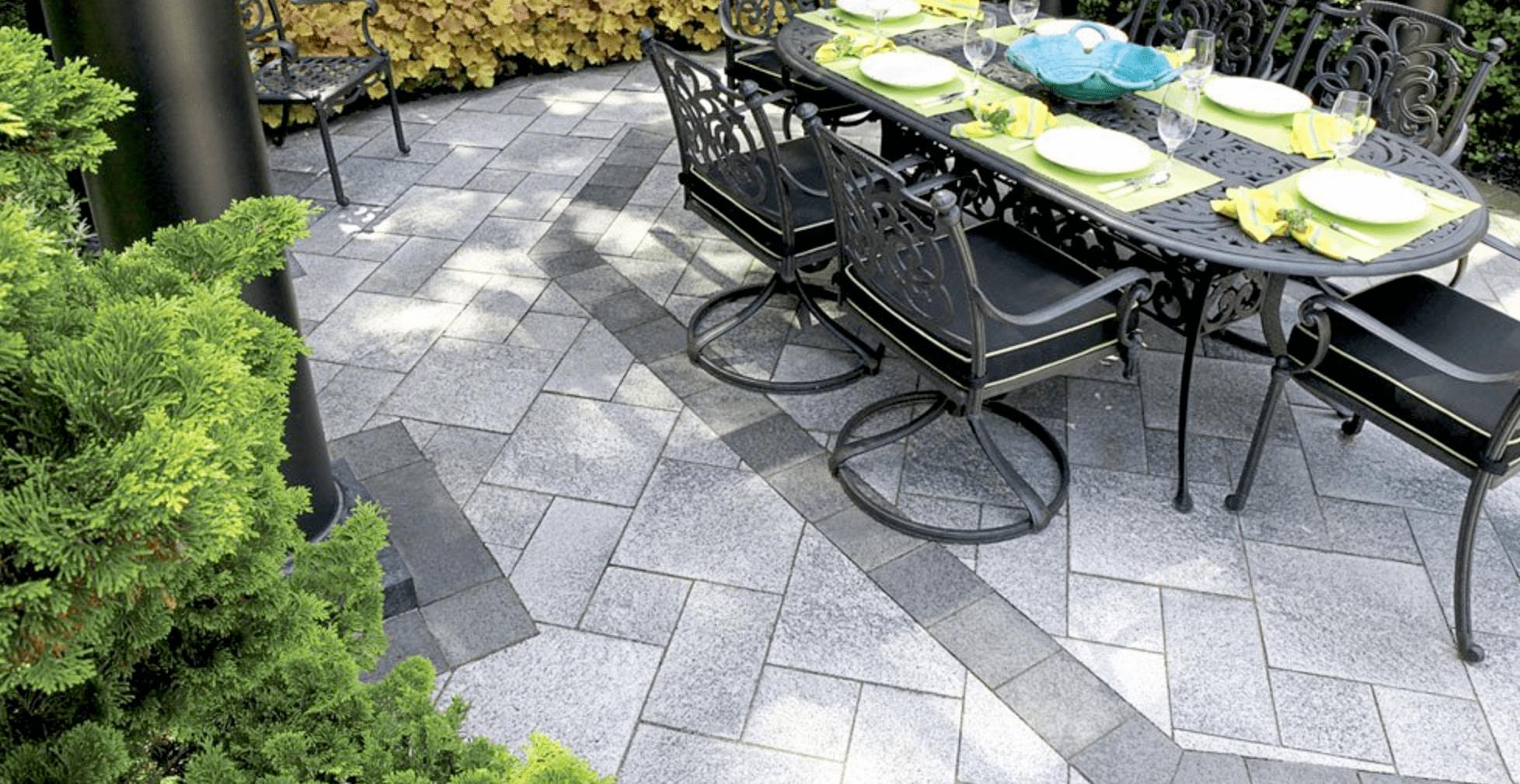 patio stone designs for burlington on