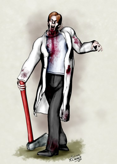 Researcher Zombie