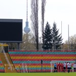 Reserves home ground - Jahn-Sportpark in Prenzlauer Berg