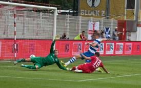 Kreilach breaks the deadlock after his header
