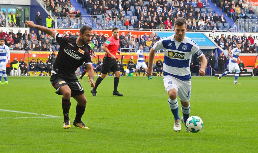 Wolze's high cross led to Duisburg's equalizer