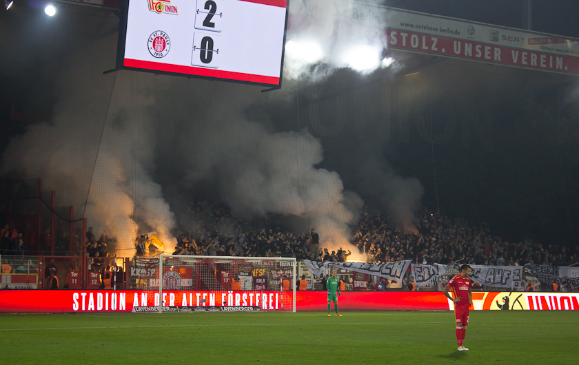 More fire in the stands than on the pitch