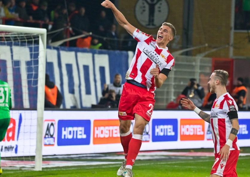 Prömel scored his first Union goal
