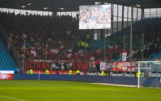 Union fans in Bochum