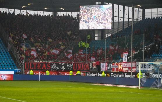 Union fans in Bochum