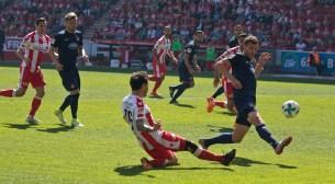 Attack move in the second half