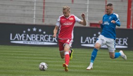 Lars Dietz played in the second half