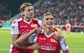 Prömel celebrating his goal