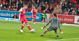 Polter: keeper saves the shot