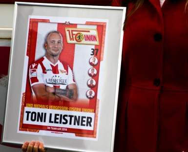 Official farewell to Toni Leistner