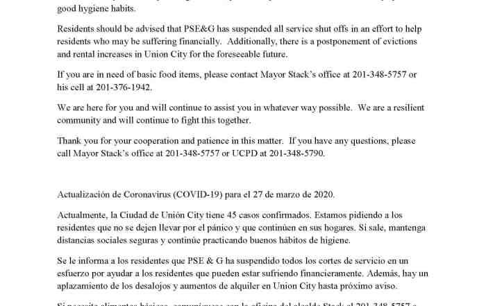 UCPD Coronavirus (COVID-19) Update