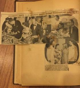 Anniversary Ball News Tribune 1947