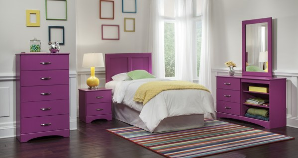 Union Furniture Bedroom 171 Raspberry
