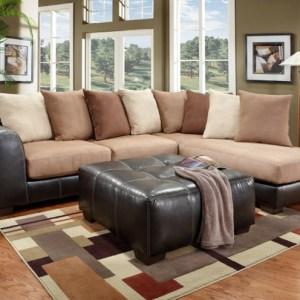 union furniture livingroom 6350 Sea Rider saddle