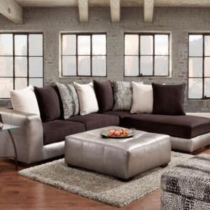 union furniture livingroom 6350 Shimmer pewter