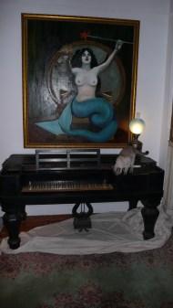 Victorian Square grand piano