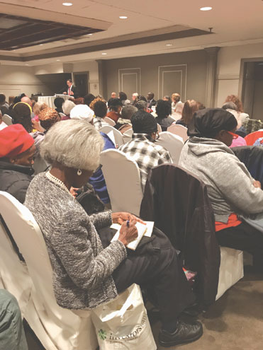 Seniors pack hall for help on how to stay in New Jersey