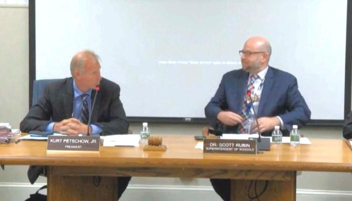 Cranford school board gets strategic plan update