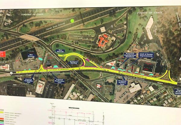 Route 22 roadwork to begin in August
