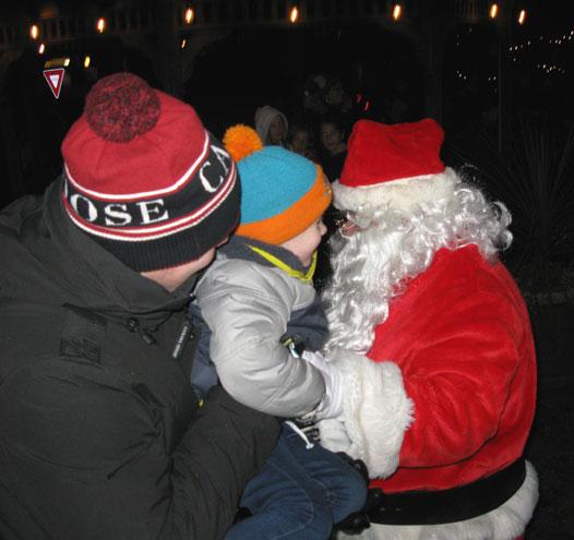 CRANFORD – Here Comes Santa Claus! (Nov. 2019)